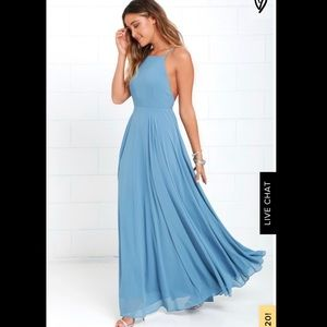 Lulu's Mythical Kind of Love Maxi Dress
